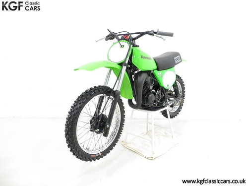 A Desirable First Edition 1979 Kawasaki KX80-A1 SOLD (picture 2 of 6)