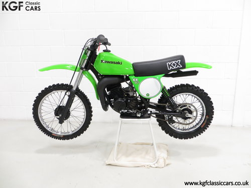 A Desirable First Edition 1979 Kawasaki KX80-A1 SOLD (picture 3 of 6)