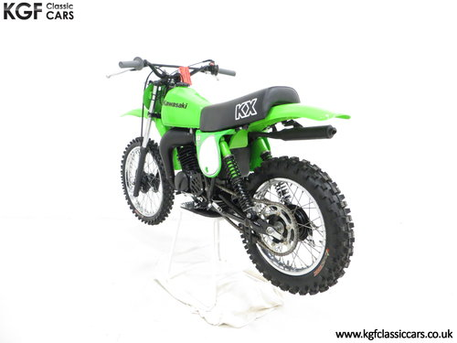 A Desirable First Edition 1979 Kawasaki KX80-A1 SOLD (picture 4 of 6)