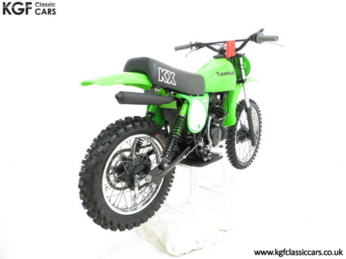 A Desirable First Edition 1979 Kawasaki KX80-A1 SOLD (picture 5 of 6)