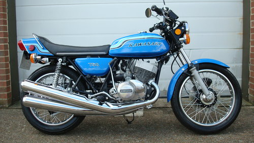 Kawasaki H2 750 Triple 1972 K Restored19578 Miles For Sale