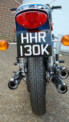 Kawasaki H2 750 TRIPLE 1972-K **RESTORED**19578 MILES** For Sale (picture 5 of 6)