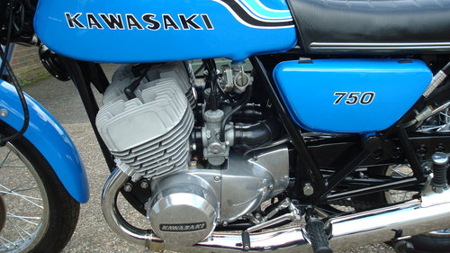 Kawasaki H2 750 TRIPLE 1972-K **RESTORED**19578 MILES** For Sale (picture 6 of 6)