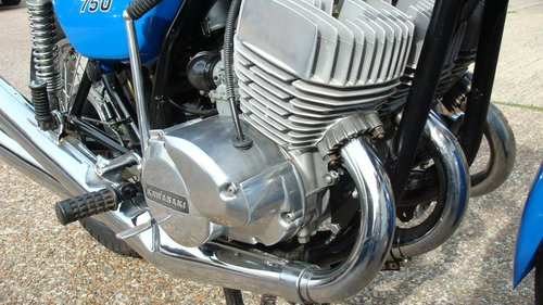 Kawasaki H2 750 TRIPLE 1972-K **10931 MILES** SOLD (picture 3 of 6)