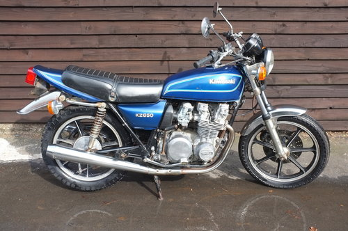 Kawasaki KZ650 KZ 650 1979 BARN FIND Just 1318 miles from ne
