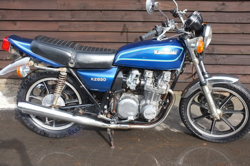 Kawasaki KZ650 KZ 650 1979 BARN FIND Just 1318 miles from ne SOLD