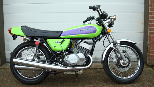 Kawasaki H1-D 500 TRIPLE 1973-M **2949 MILES** SOLD (picture 1 of 6)