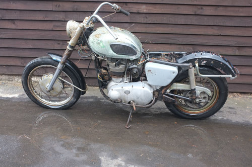 Kawasaki W1 W 1 1964 #52 No.52 with No.55 Motor! Meguro BARN For Sale (picture 2 of 6)