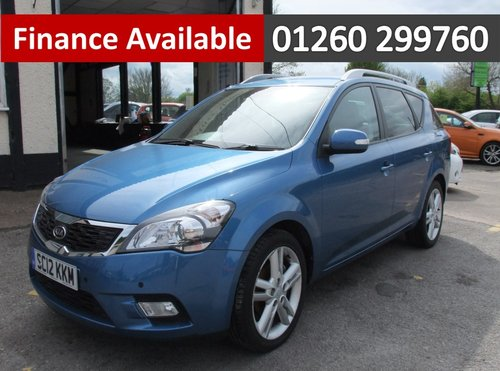 2012 KIA CEED 1.6 CRDI 4 SW 5DR AUTOMATIC SOLD (picture 1 of 6)