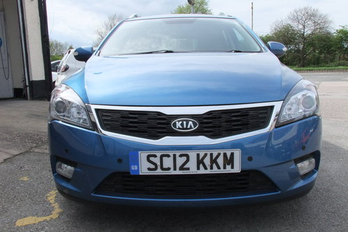 2012 KIA CEED 1.6 CRDI 4 SW 5DR AUTOMATIC SOLD (picture 4 of 6)