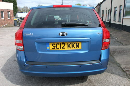2012 KIA CEED 1.6 CRDI 4 SW 5DR AUTOMATIC SOLD (picture 5 of 6)
