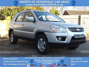 2009/59 Kia Sportage 2.0CRDi XS AUTOMATIC 2WD - 5 Dr SUV For Sale
