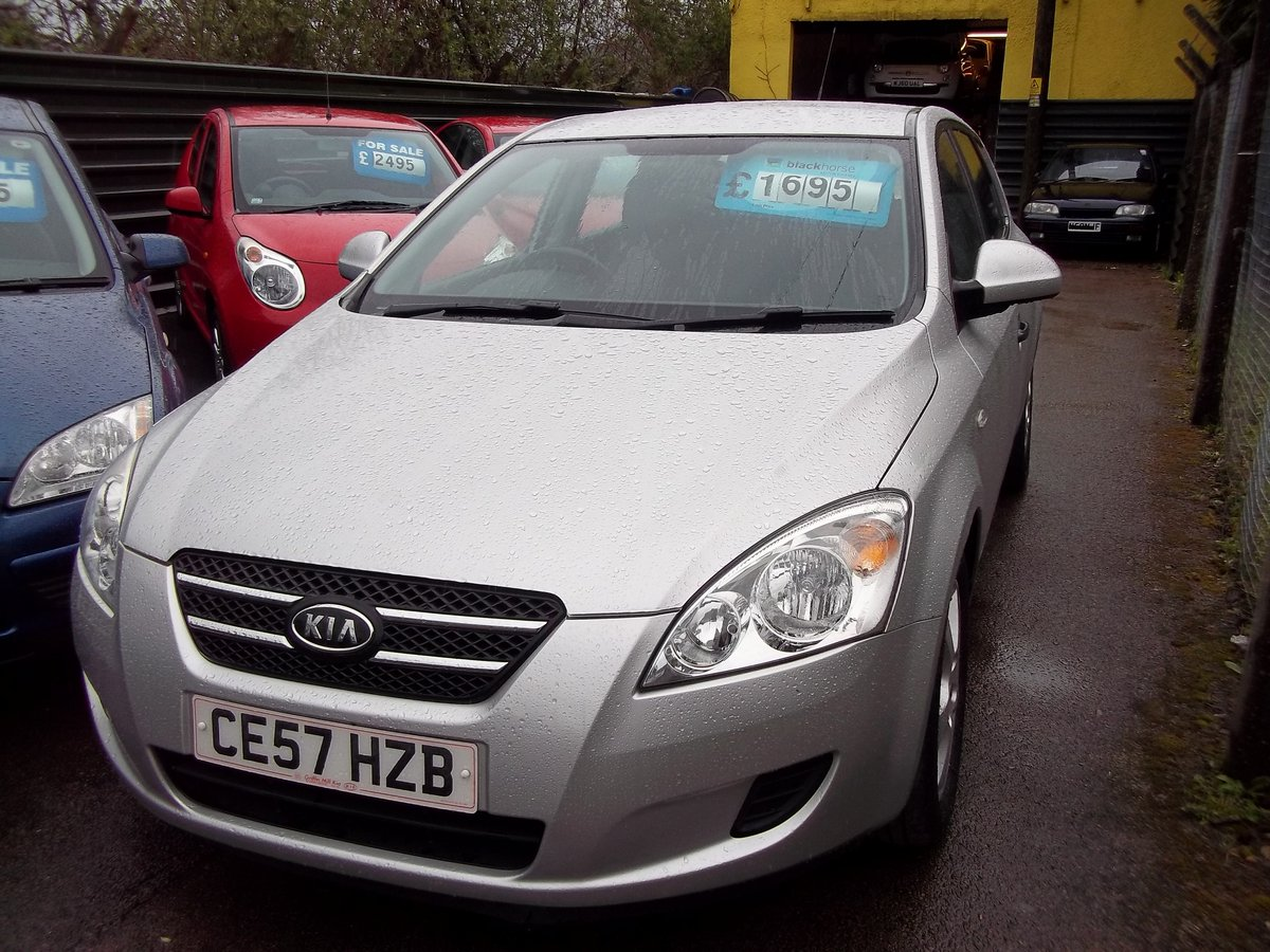 2007 Kia Cee'd 1.4 SR For Sale (picture 1 of 5)