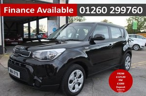 2014 KIA SOUL 1.6 START 5DR BLACK For Sale