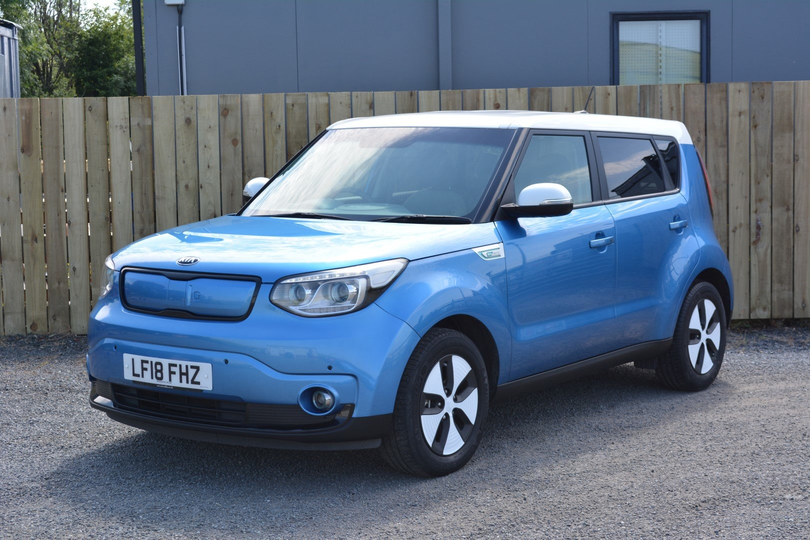 2018 Kia Soul EV Fully Electric - Practical Space - Great Range For Sale (picture 1 of 6)