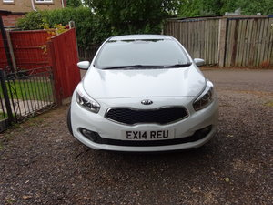 2014 VALUE KIA 1400cc DIESEL 6 SPEED MANUAL 5 DOOR £30 ROAD TAX
