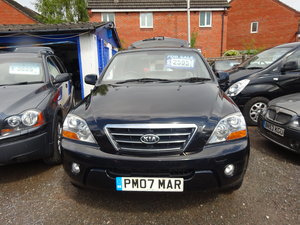 2007 4X4 KIA SORENTO 2.5cc DIESEL TUR 6 SPEED MANUAL WITH TOW BAR