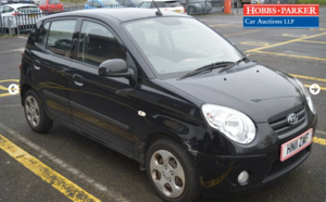 Picture of 2011 Kia Picanto Domino 81,282 miles for auction 25th SOLD