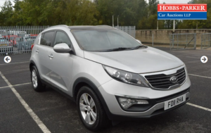 Picture of 2011  Kia sportage 98,820 Miles for auction 25th