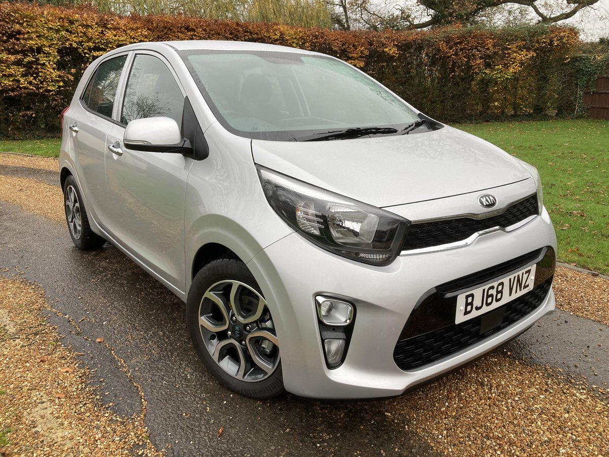 2018 Kia Picanto 3 1.25 5 Door. Only 450 Miles For Sale (picture 1 of 12)