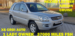 Picture of 2005 Sportage 2.0 xs crdi auto 4x4 1 lady owner 37k fsh
