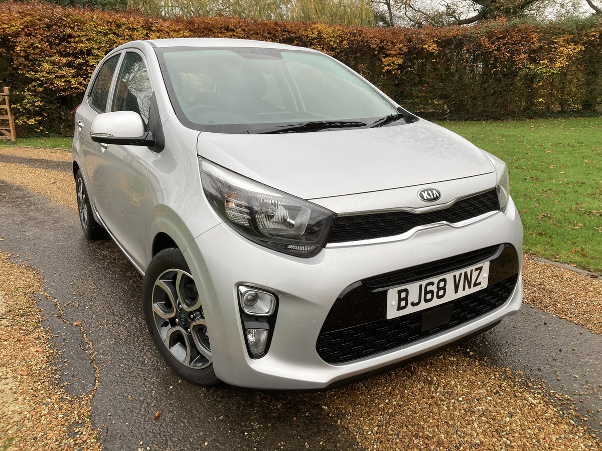 2018 Kia Picanto 3 1.25 5 Door. Only 450 Miles For Sale (picture 2 of 12)