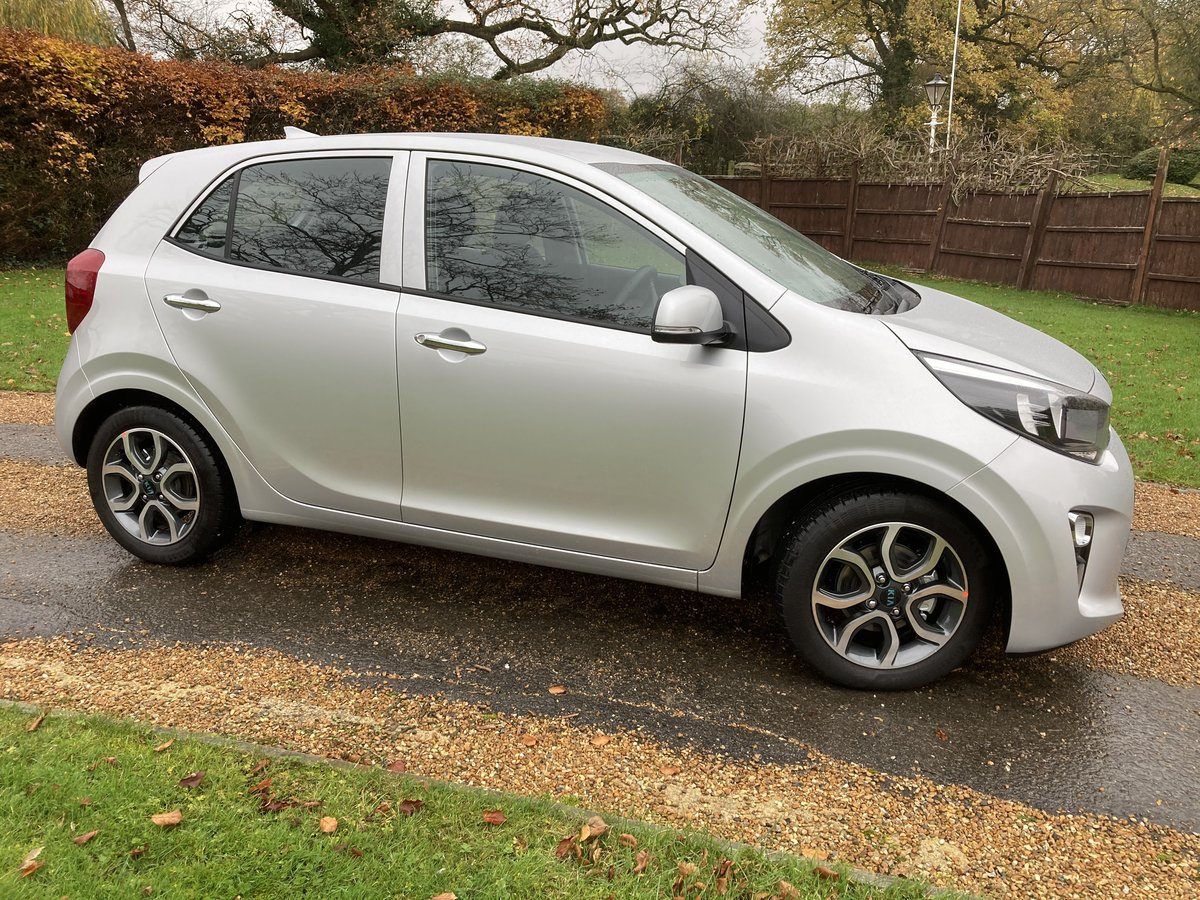 2018 Kia Picanto 3 1.25 5 Door. Only 450 Miles For Sale (picture 3 of 12)