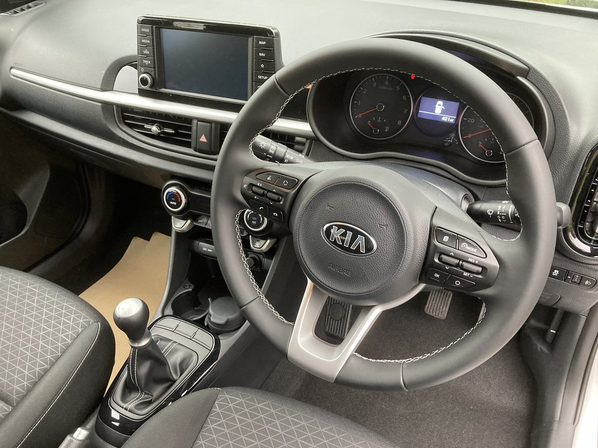 2018 Kia Picanto 3 1.25 5 Door. Only 450 Miles For Sale (picture 7 of 12)