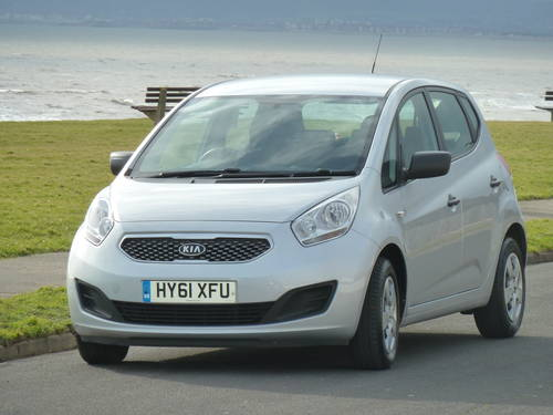 2011 VENGA 1.4CRDi DIESEL EcoDynamics £30 TAX VERY ECONOMICAL For Sale (picture 4 of 6)