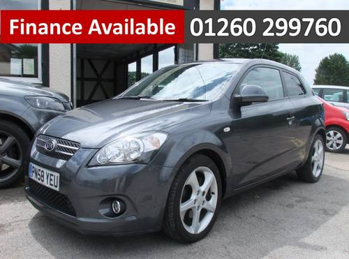 2008 KIA CEED 2.0 PRO CEED SPORT CRDI 3DR Manual SOLD (picture 1 of 6)