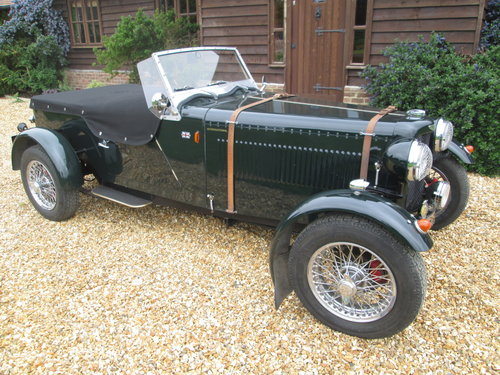 1990 Aston Martin Replica Circa 1930's based on TD kit SOLD (picture 4 of 6)