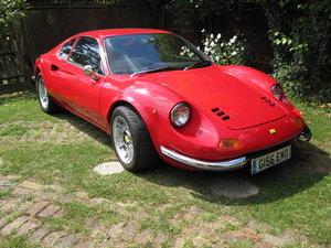 1990 Ferrari Dgt 204 GT kit car built by J H Classics For Sale