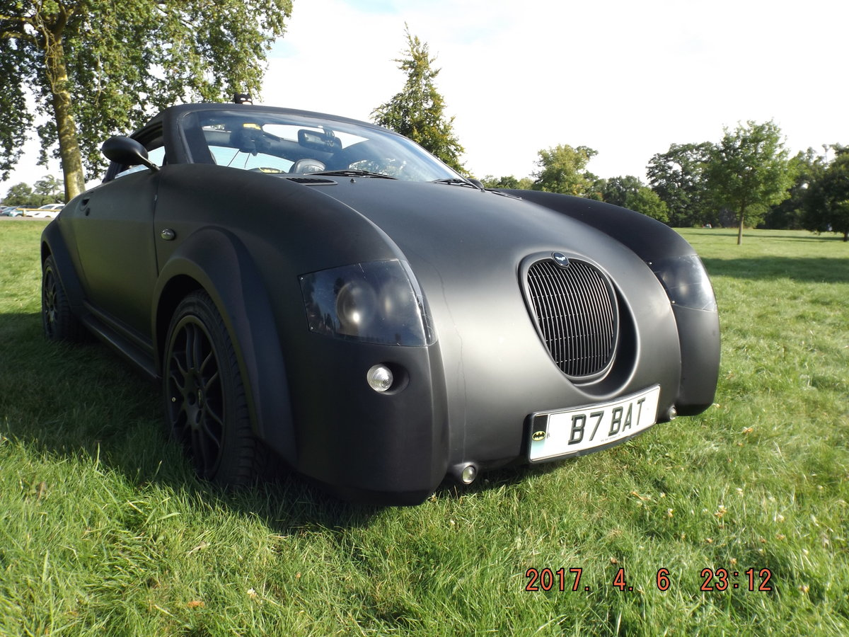2004 BATMOBILE INSPIRED MGF 1.8cc POWERED For Sale (picture 3 of 6)