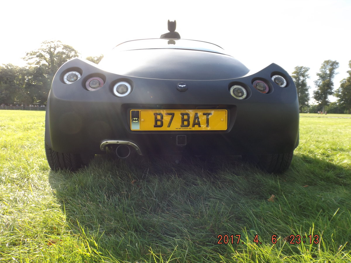 1991 2004 BATMOBILE INSPIRED MGF 1.8 cc For Sale (picture 4 of 6)