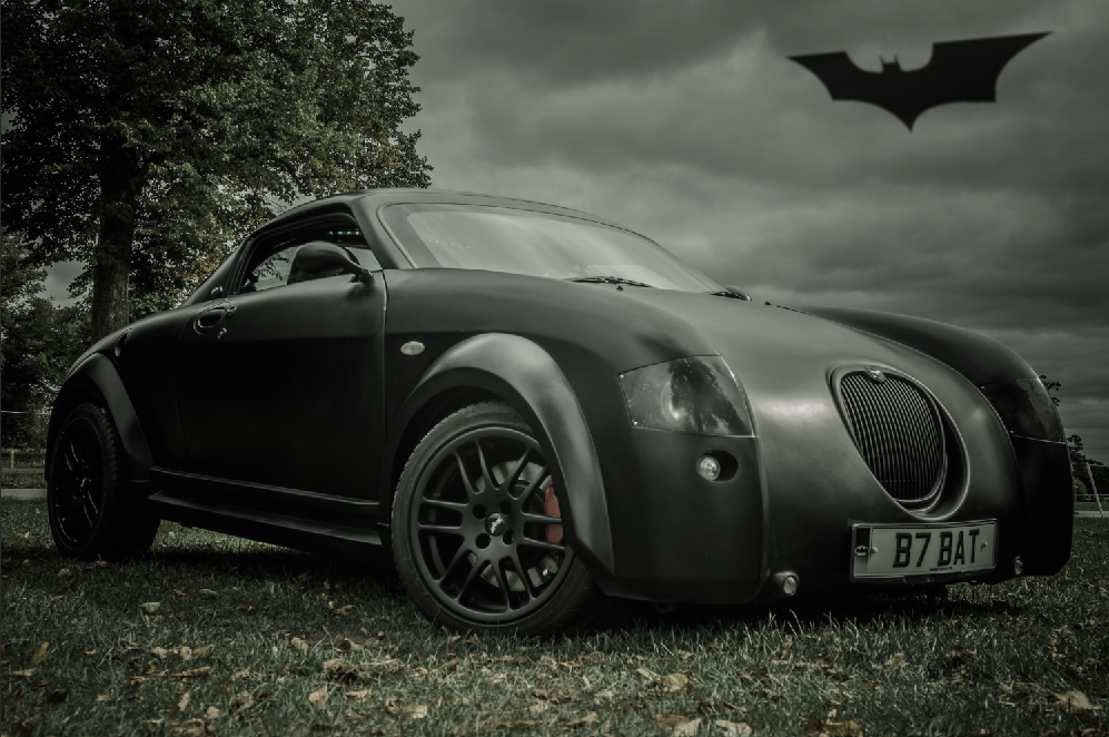 1991 Batmobile inspired mgf 1.8 cc For Sale (picture 1 of 6)