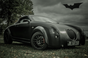 Batmobile inspired mgf 1.8 cc