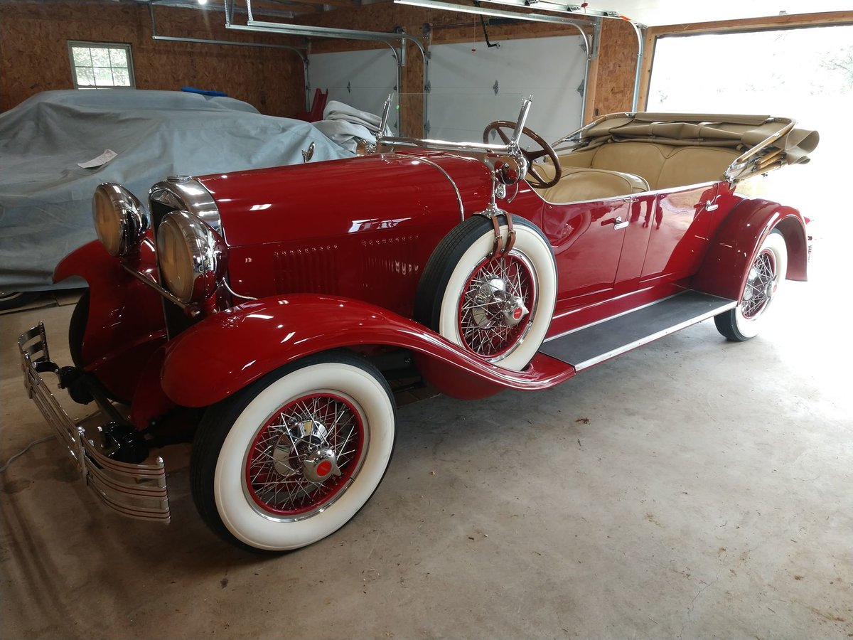 1929 Kissel White Eagle Tourster last known survor SOLD (picture 1 of 6)