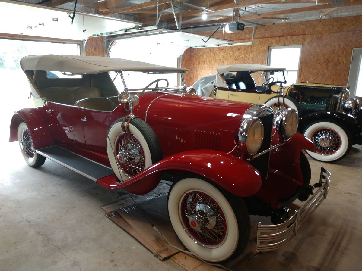 1929 Kissel White Eagle Tourster last known survor SOLD (picture 2 of 6)