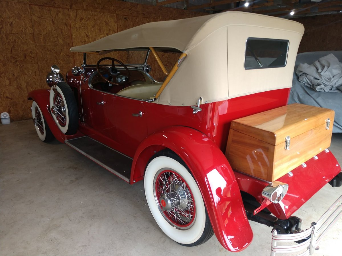 1929 Kissel White Eagle Tourster last known survor SOLD (picture 6 of 6)