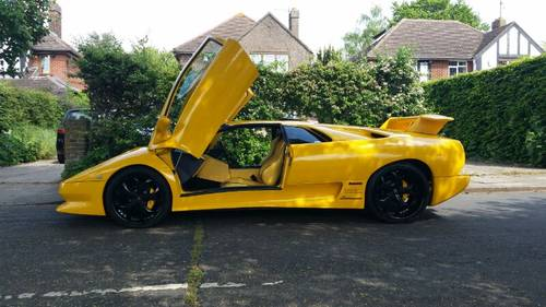 Now Sold Lamborghini Diablo Sv Remake Replica 2011 Sold Car And