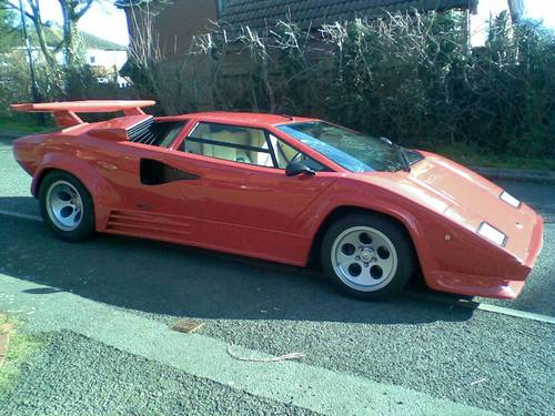 2003 Lamborghini Countach Replica Mirage Sold Car And Classic