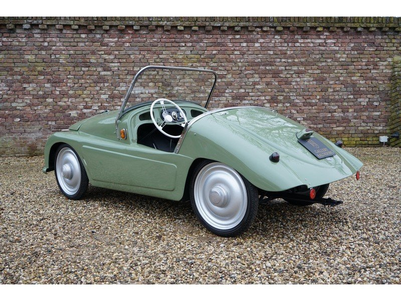1950 Klein Schnittger F 125 fully restored, only 100 are believed For Sale (picture 2 of 6)