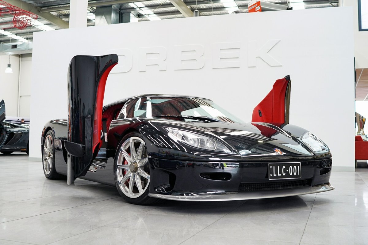 2004 KOENIGSEGG CCR 6-speed manual For Sale (picture 1 of 6)
