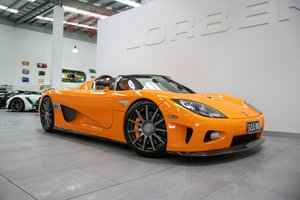 Koenigsegg CCX 6-speed manual