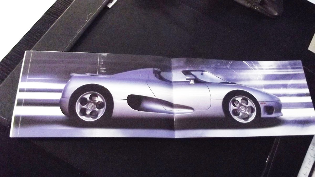 0000 KOENIGSEGG CC SUPERCAR ORIGINAL SALES BROCHURE - OFFERS For Sale (picture 2 of 2)