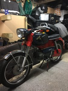 1970 Kreidler RS Pretty unrestored low mileage 2 stroke