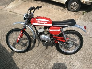 1976 Ducson s21 especial sports moped new