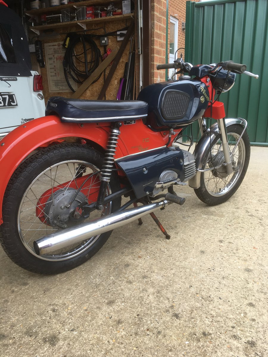 1970 Kreidler Florret RS 50cc For Sale (picture 5 of 6)