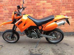 2000 KTM 640 LC4 supermoto