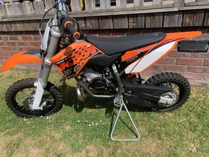 KTM 50SX 2 hours use from new
